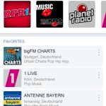 Image for the Tweet beginning: New radio player for mobile
