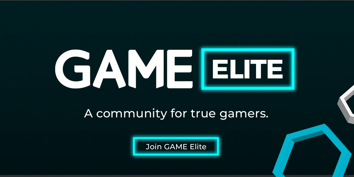 Join  GAMEElite today and get exclusive deals each month and more points on  your reward card for awesome new games and goodies. For more info ask in  store. 0d6b9affb4f71