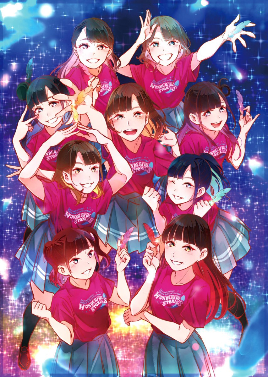 Aqours 3rd LoveLive! Tour  ~WONDERFUL STORIES~ 最高の時間を本当に本当にありがとうございました!!!!!!!!!