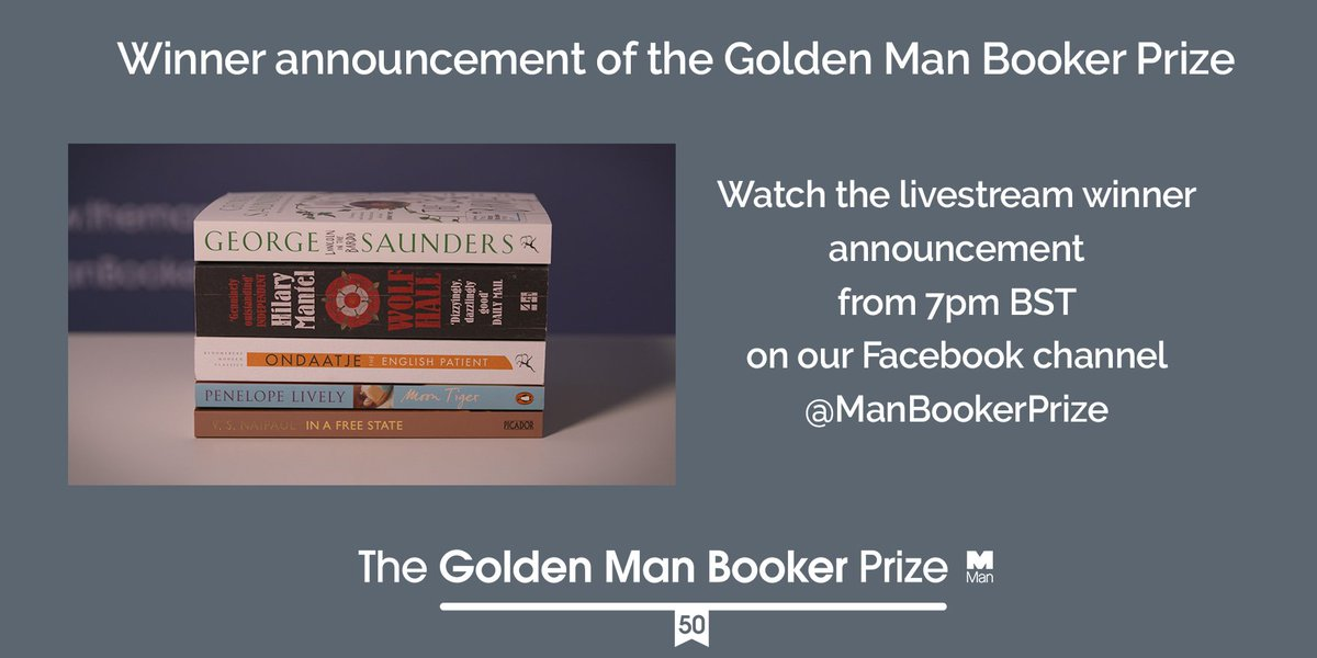 Man Booker Prize on Twitter: