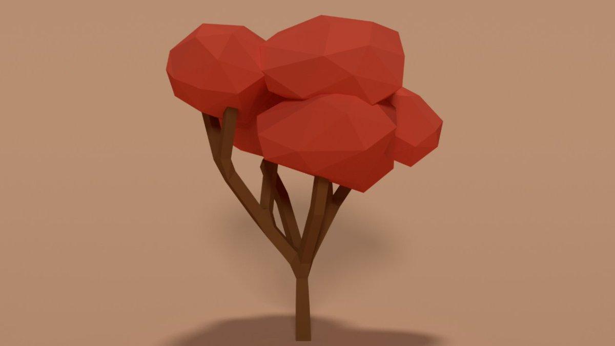 single sapling games on twitter acer tree in blender creating rh twitter com