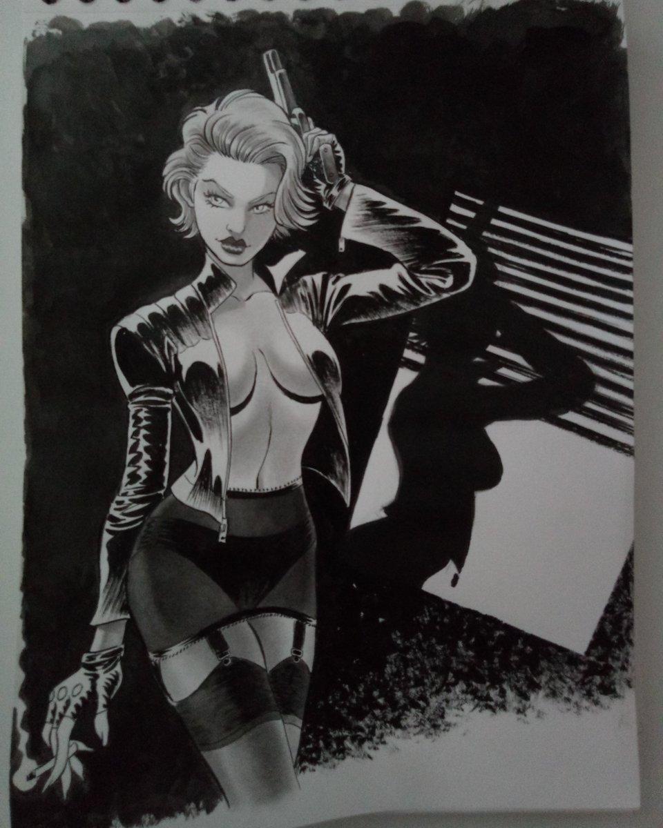 chastity blaze mika illustration comics