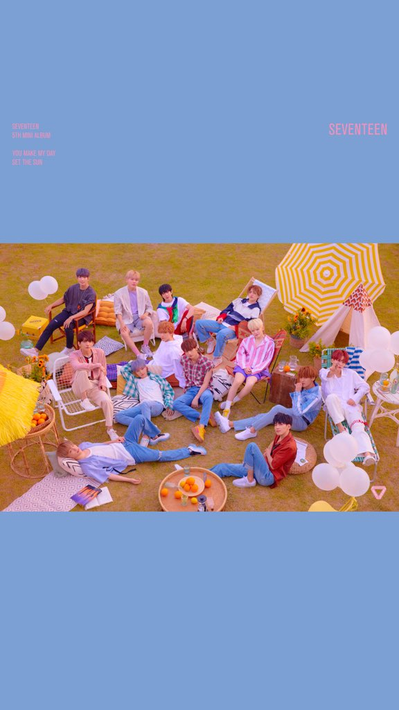 My Day In Front Of The Camera: SEVENTEEN 5TH MINI ALBUM 'YOU MAKE MY DAY