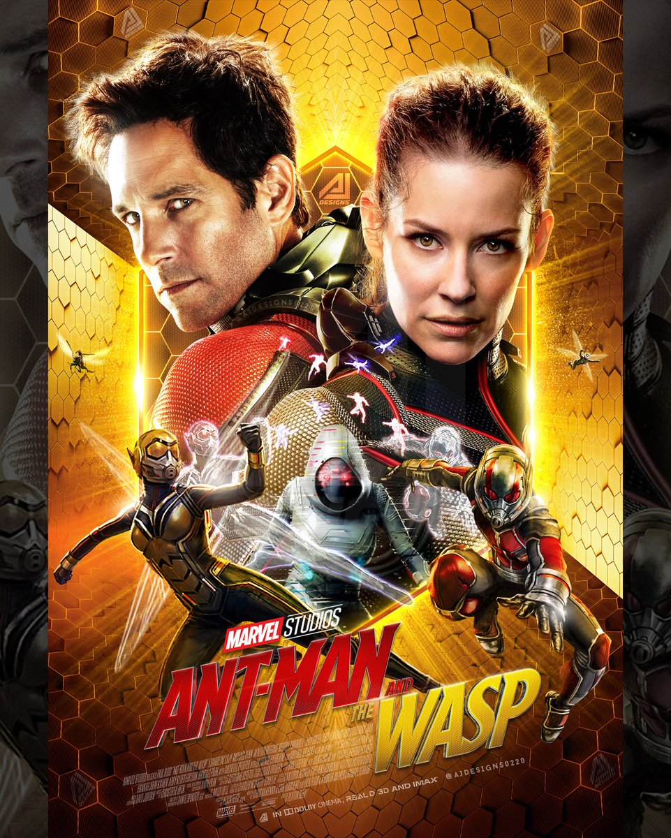 Aj Designs On Twitter Ant Man The Wasp Poster Antman Thewasp