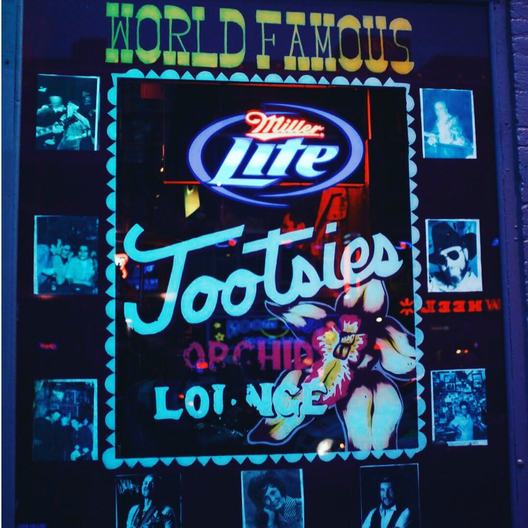 So happy I got to play at @tootsiesnet yesterday! Awesome place! #worldfamous