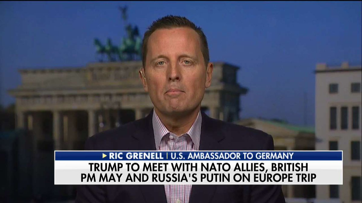 .@RichardGrenell: 'We have held Russia and President Putin accountable for their malign activities.' #SundayFutures