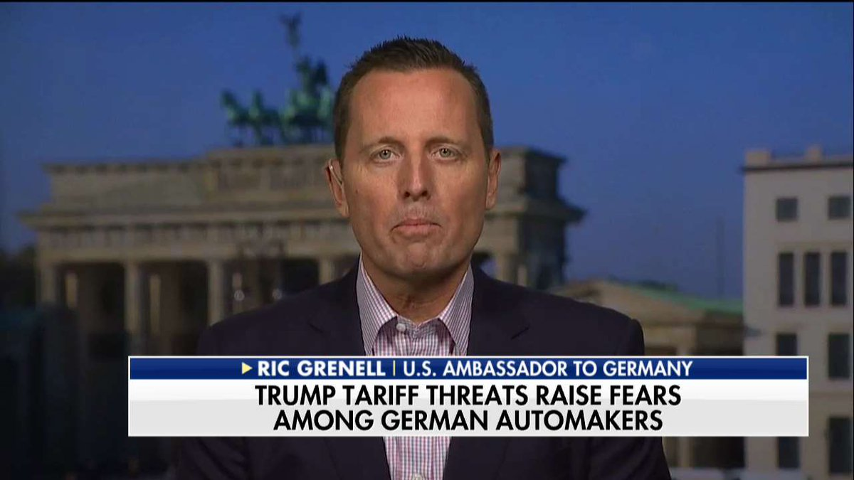 .@RichardGrenell: 'We inherited a broken trade policy.' #SundayFutures https://t.co/tuZ4t98zAo