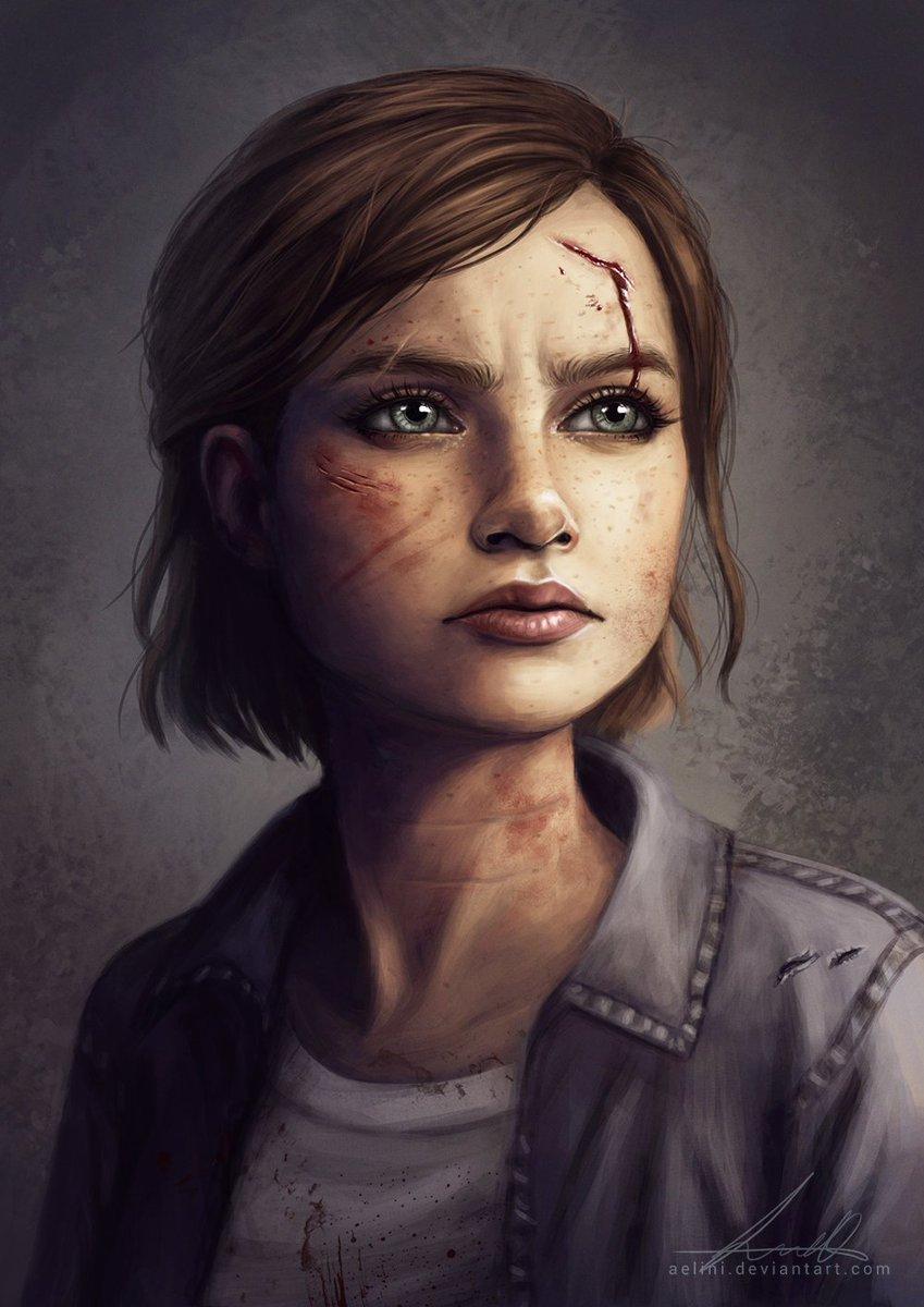 The Last Of Us 2 News On Twitter Fan Art Ellie From The