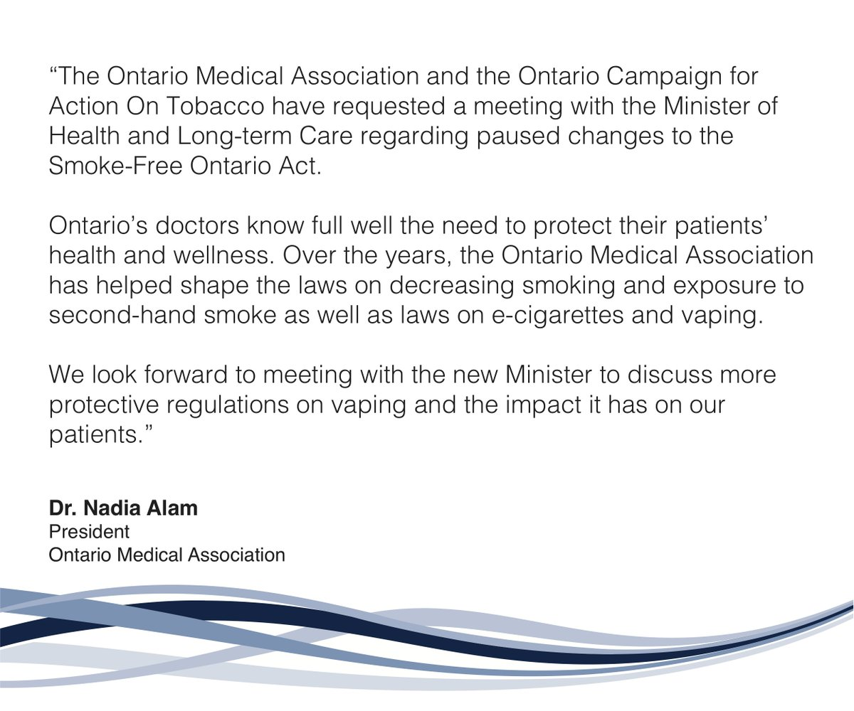 Ontario Medical Association on Twitter:
