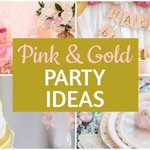 Grogeous Pink & Gold Party Ideas! https://t.co/H50CyRGMYV