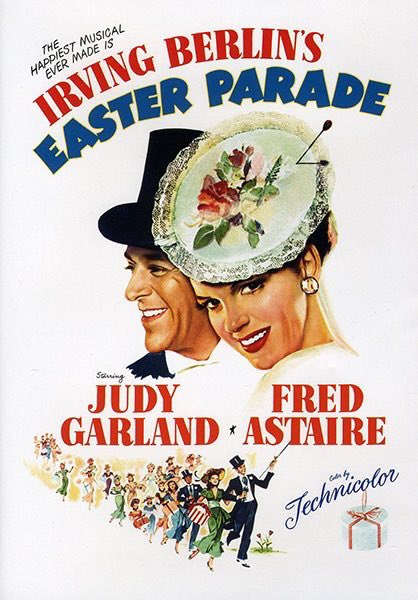 MOVIE HISTORY: 70 years ago today, July 8, 1948, the movie 'Easter Parade' opened in theaters!  #JudyGarland #FredAstaire #PeterLawford #AnnMiller #JeniLeGon #JulesMunshin #ClintonSundberg #JimmyBates @MGM_Studiospic.twitter.com/pcpGFNPyrg
