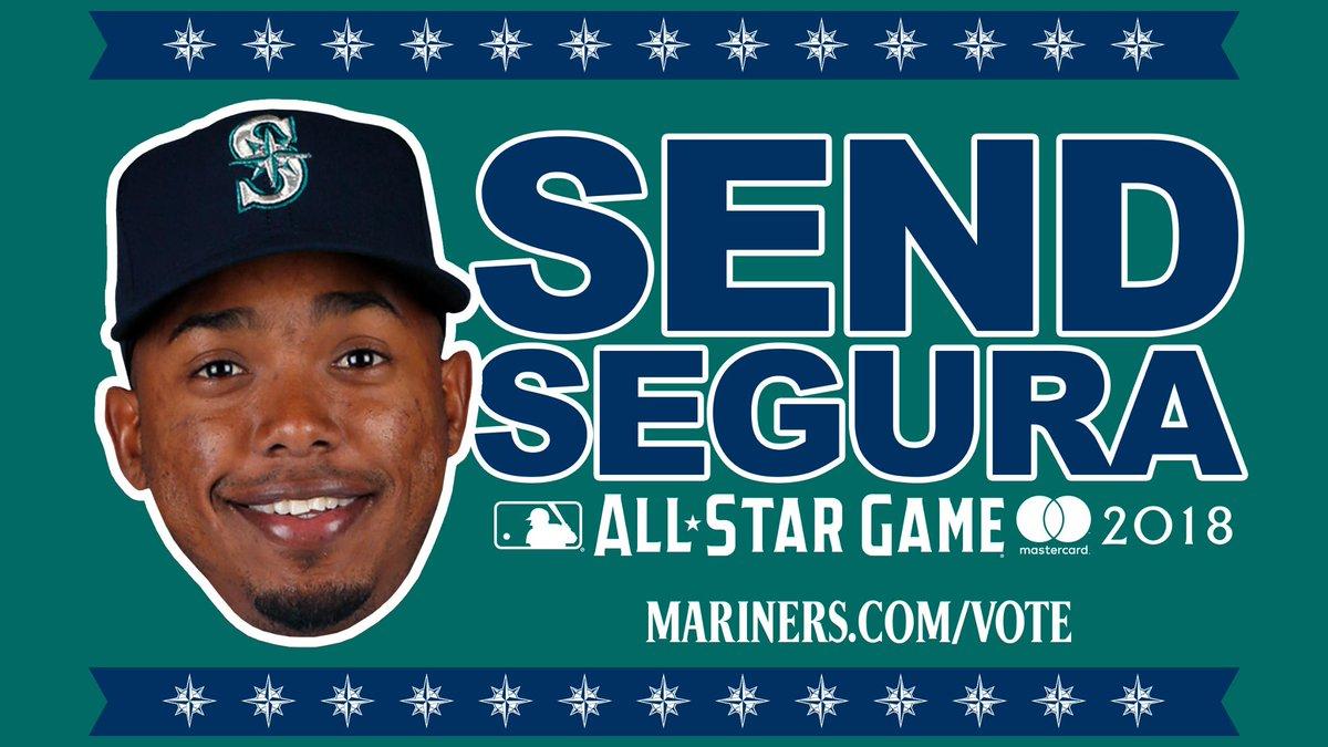 #Mariners shortstop Jean Segura has been selected as one of five American League final vote candidates. #SendSegura Read: atmlb.com/2KRkcDF