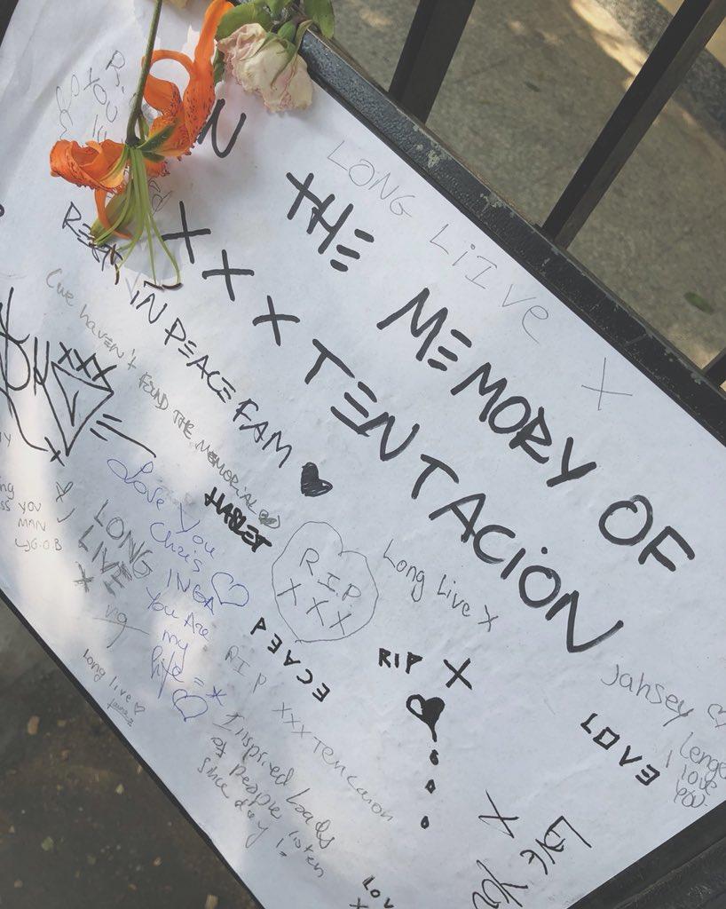 MEMORIAL A XXXTENTACION EN LONDRES