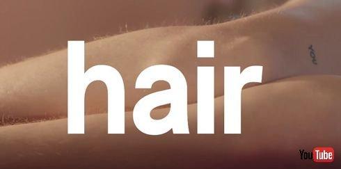 言われてみれば、男性のひげそりCMと違う……  ツルツル肌をそるカミソリ広告はおかしい! カミソリブランドBillieがリアルなムダ毛処理CM公開