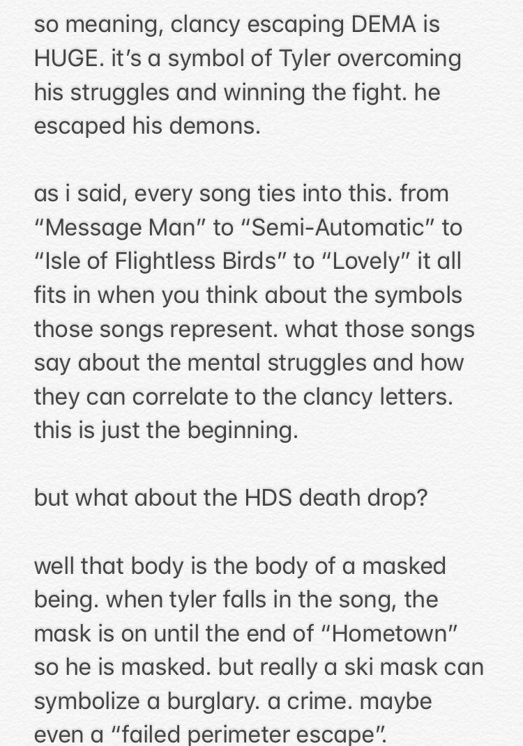 On Twitter Here It Is My Picture Of So What Are All Those Symbols Can Connect To The Other Songs How Drive Together In Harmony I Confirm Tyler Joseph Borderline Genius Hope You Enjoy