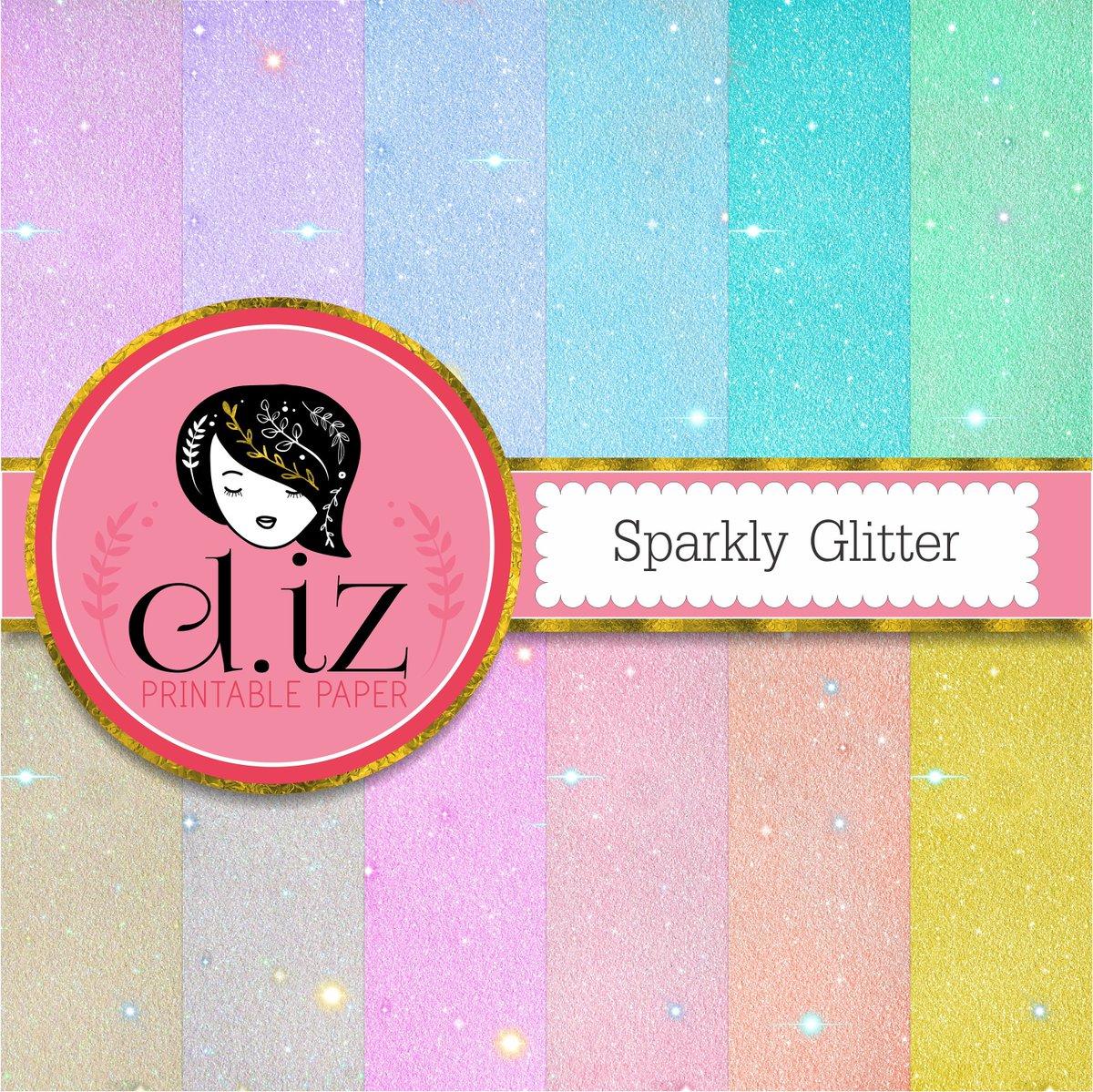 d iz on twitter glitter digital paper sparkly glitter paper