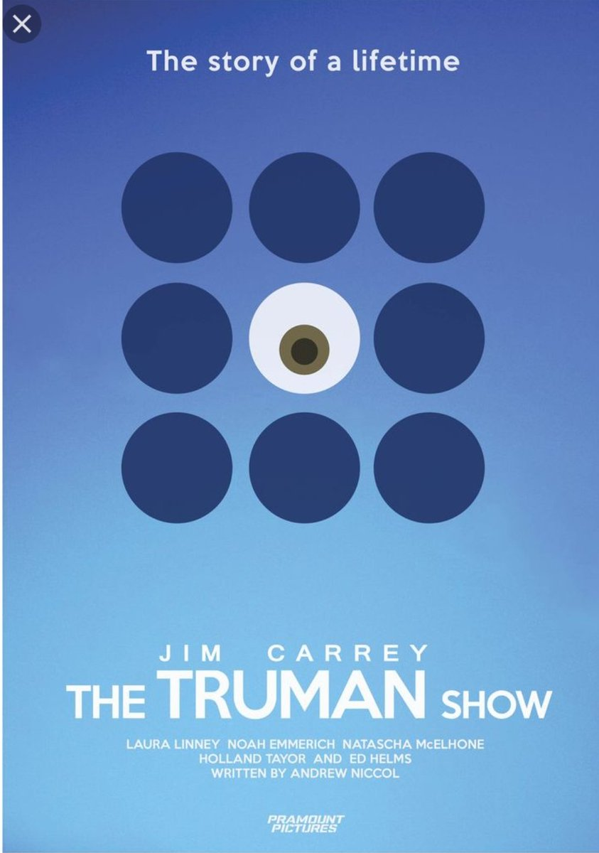 Lua James On Twitter Have You Heard Of The Truman Show Thing It
