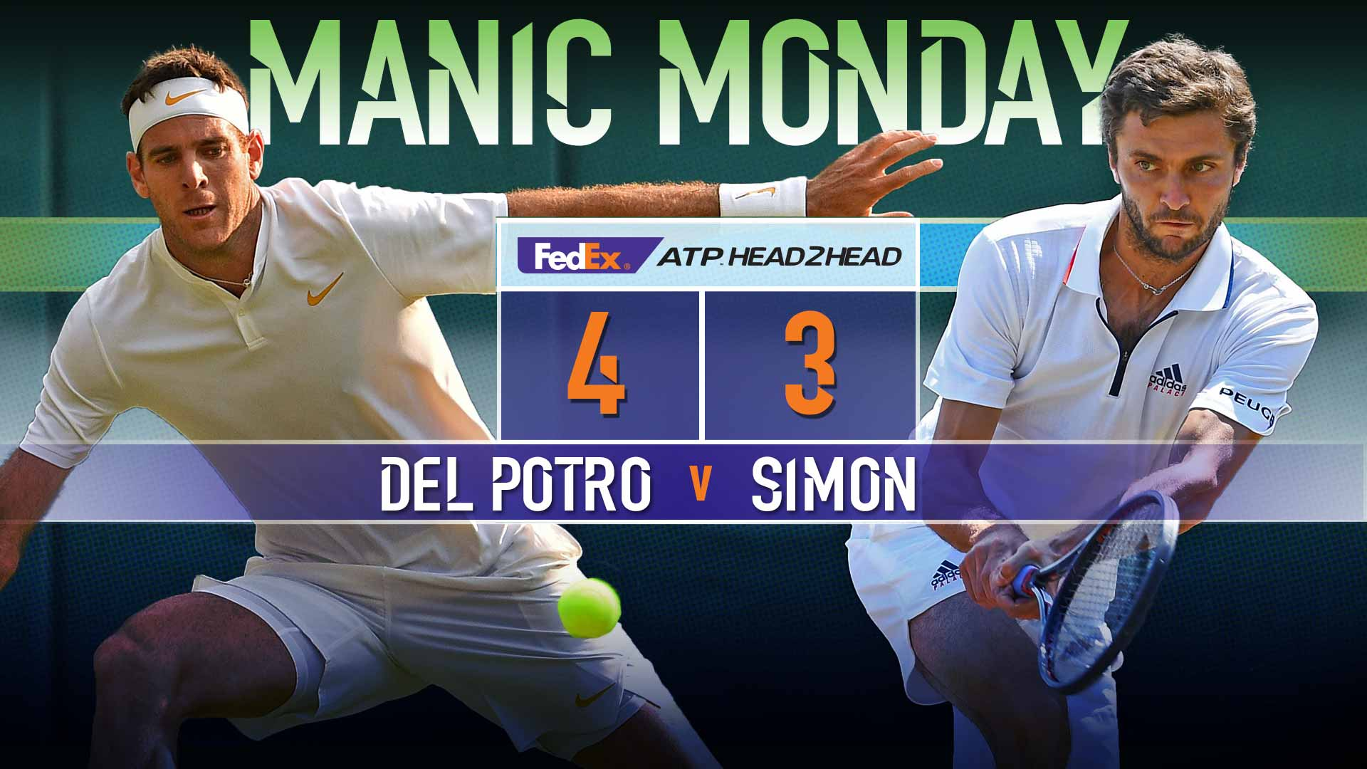 It's almost here. ����������  Previewing 'Manic Monday' ➡️ https://t.co/LvtS6oAG2L  #ATP #Wimbledon https://t.co/ovyHzc0bkW