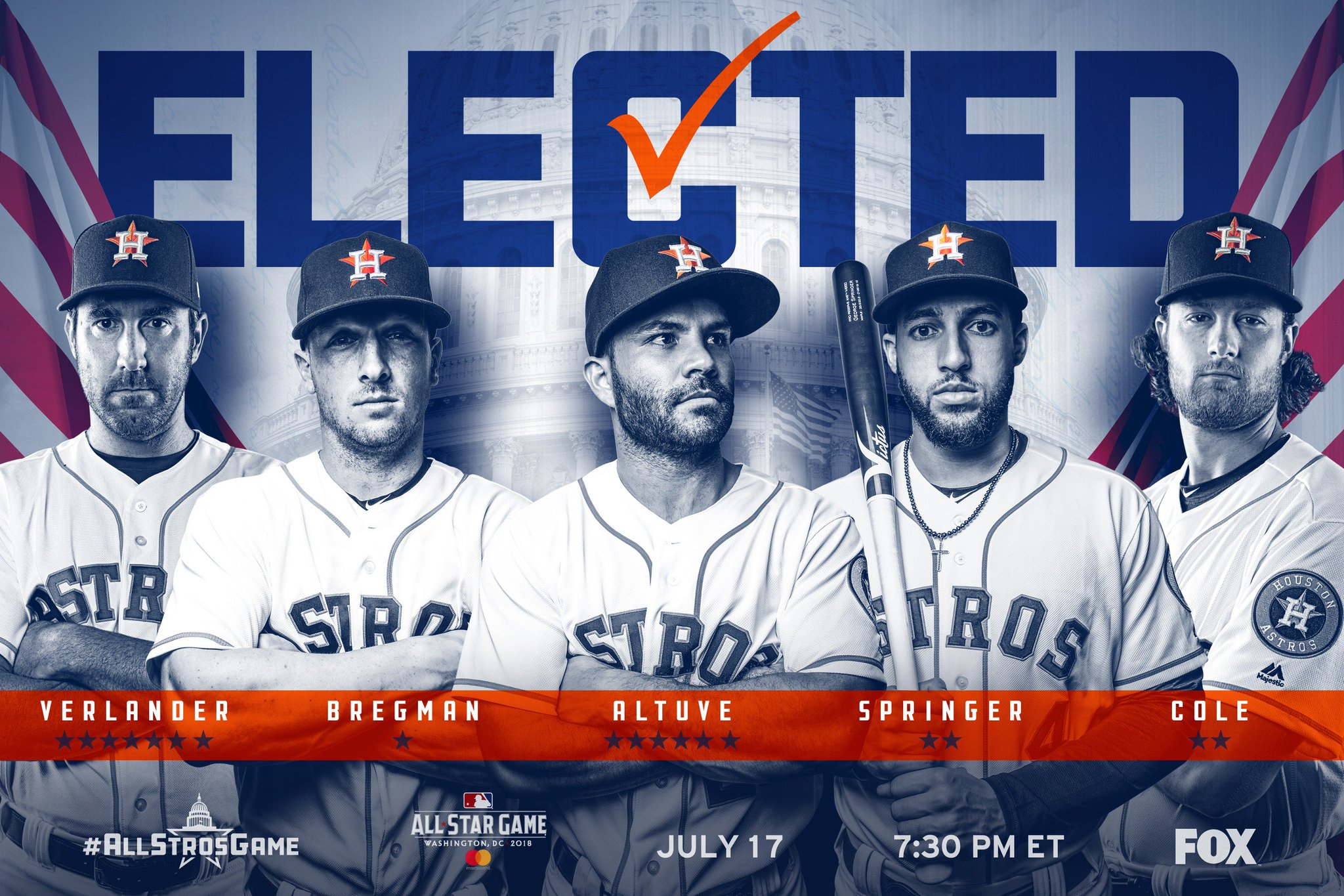 Your 2018 #Astros All-Stars! https://t.co/0bUpb2iBNb