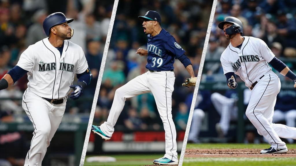 Nelson Cruz, Edwin Díaz and Mitch Haniger have been named to the American League All-Star Team. This marks the 10th time in club history to have at least 3 players selected to the AL All-Star team. Read: atmlb.com/2KWf5Pr
