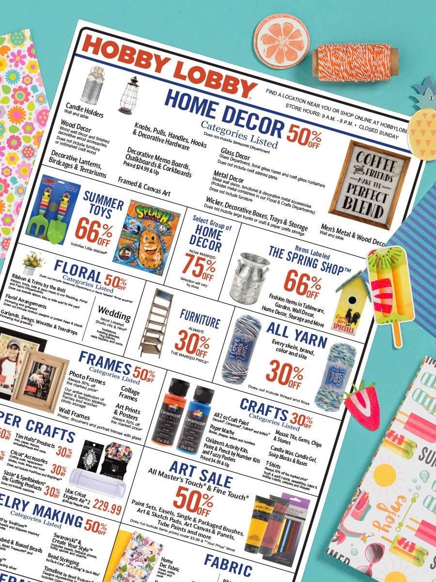 Official Hobby Lobby On Twitter It S Time To Splurge On