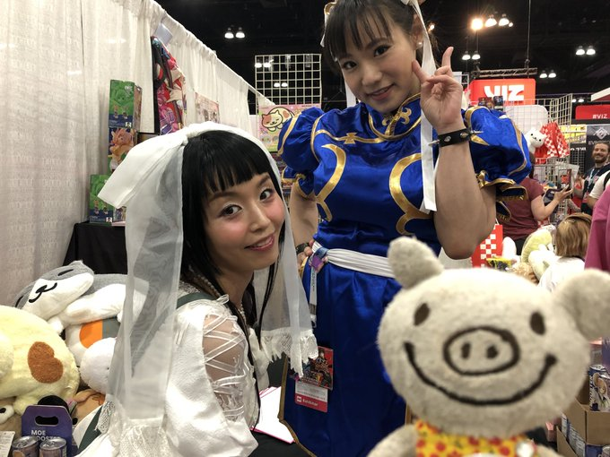 1 pic. At the @AnimeExpo....  with @Buusan_Marica and @Shibukaho   澁谷果歩ちゃん素敵💖でした! https://t.co/mxW55