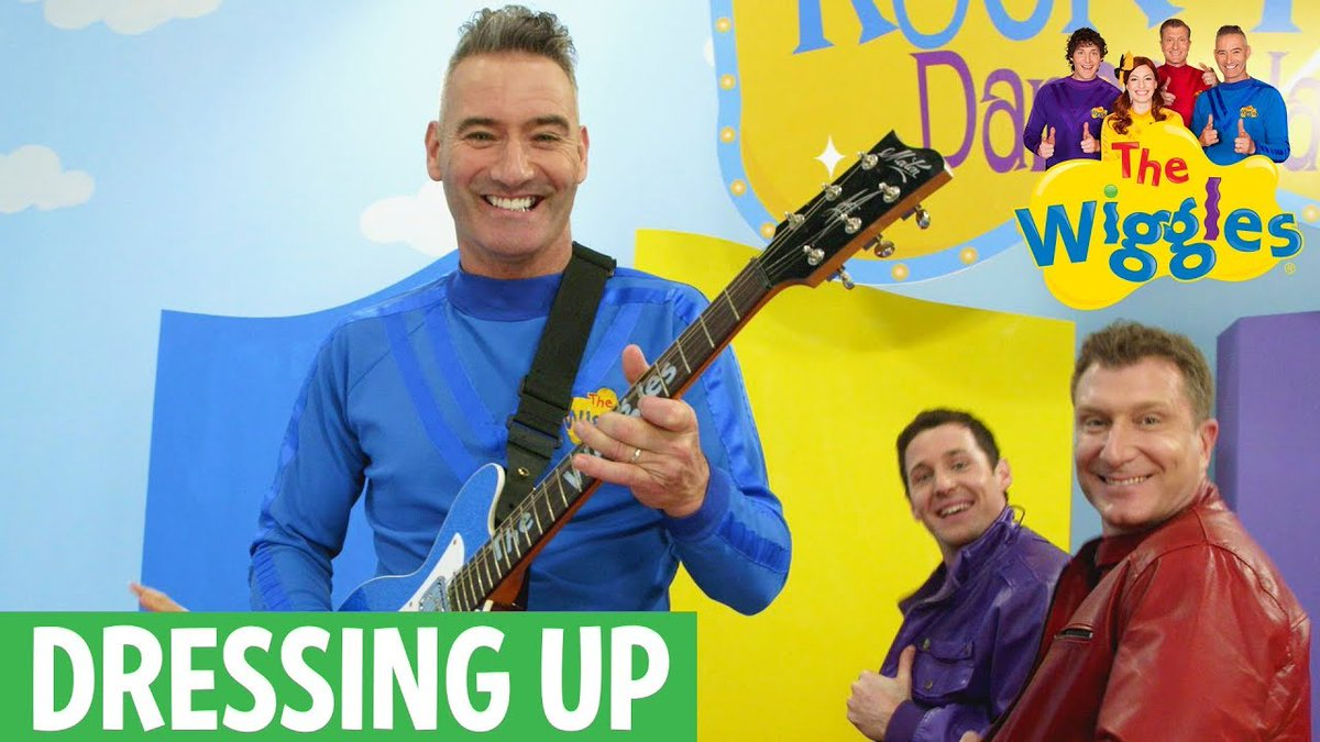 The Wiggles On Twitter  F0 9f 93 Ba Oh Yeah Its Monday Youtube Time  F0 9f 98 84 Todays New Video Is I Want A Leather Jacket From Our Dressing Up In Style Playlist
