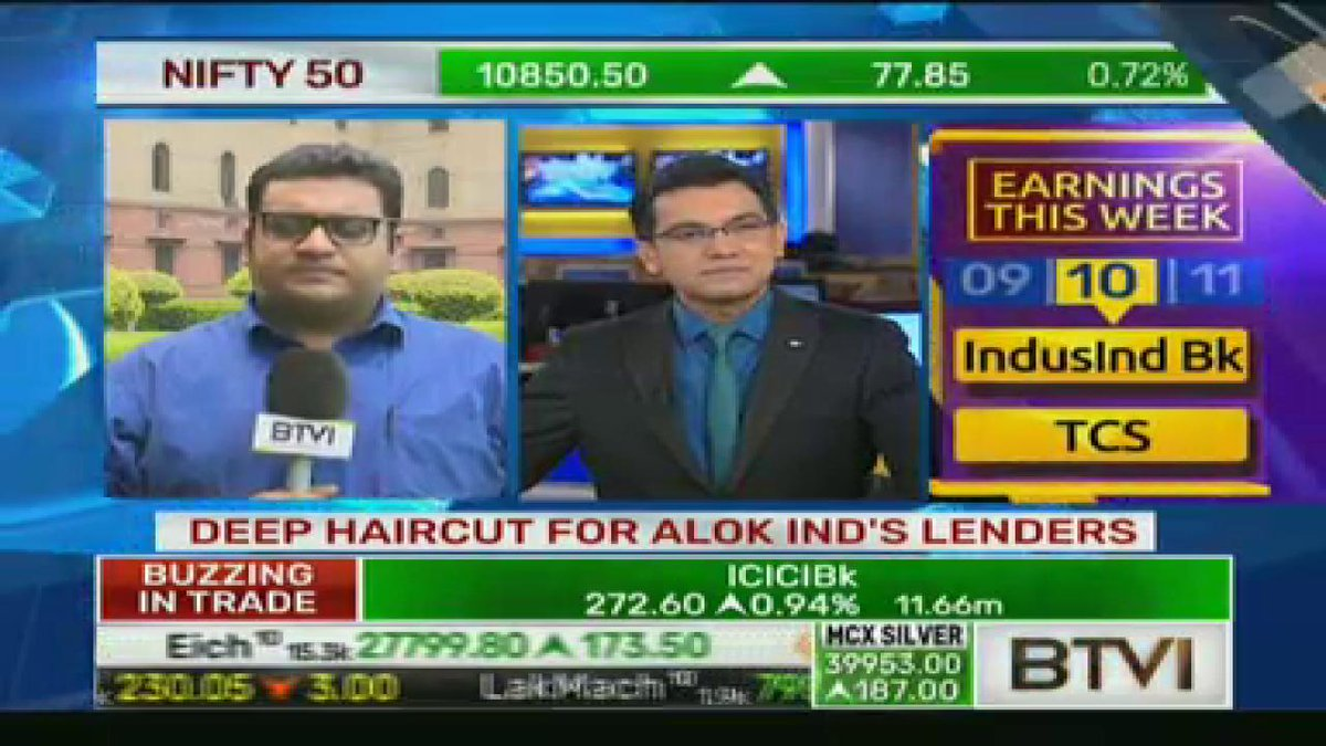 Btvi Live On Twitter Sources To Btvi Alok Industries Gets Fresh