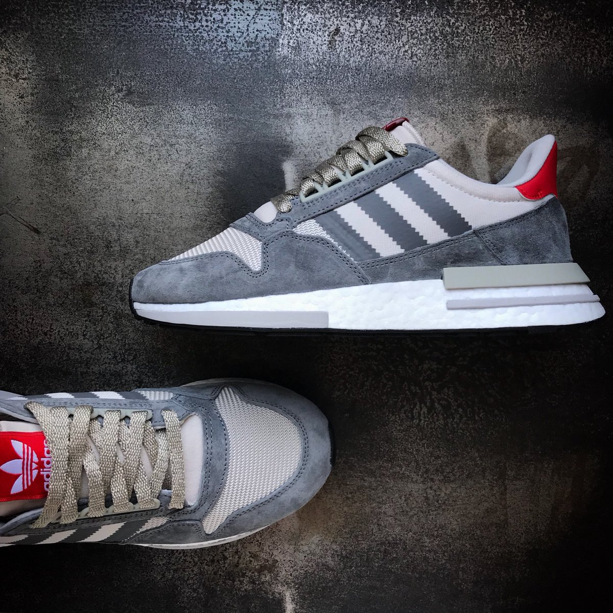 c7c54c509 The adidas Originals ZX 500 RM combines classic tooling in an OG colourway  with the comfort of a BOOST sole unit. Available now £119.95 .
