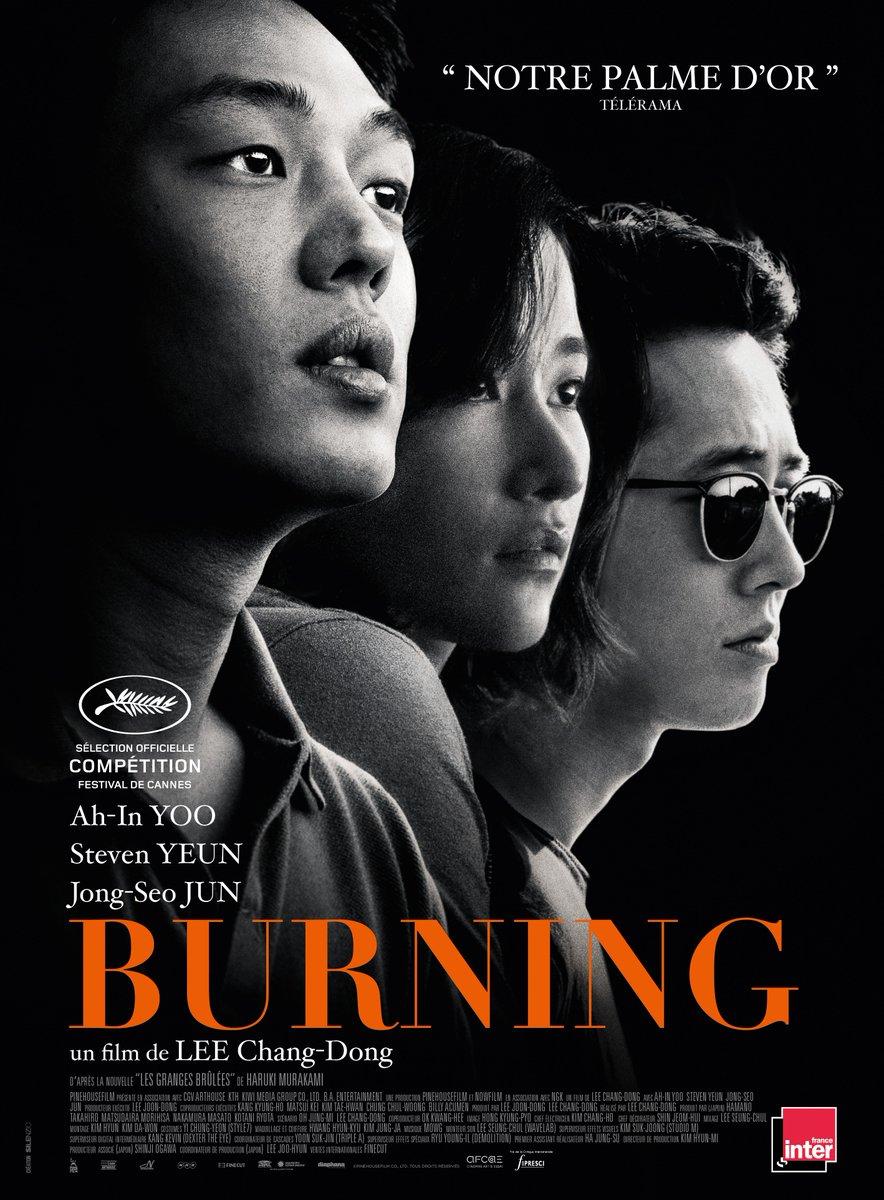 Burning affiche