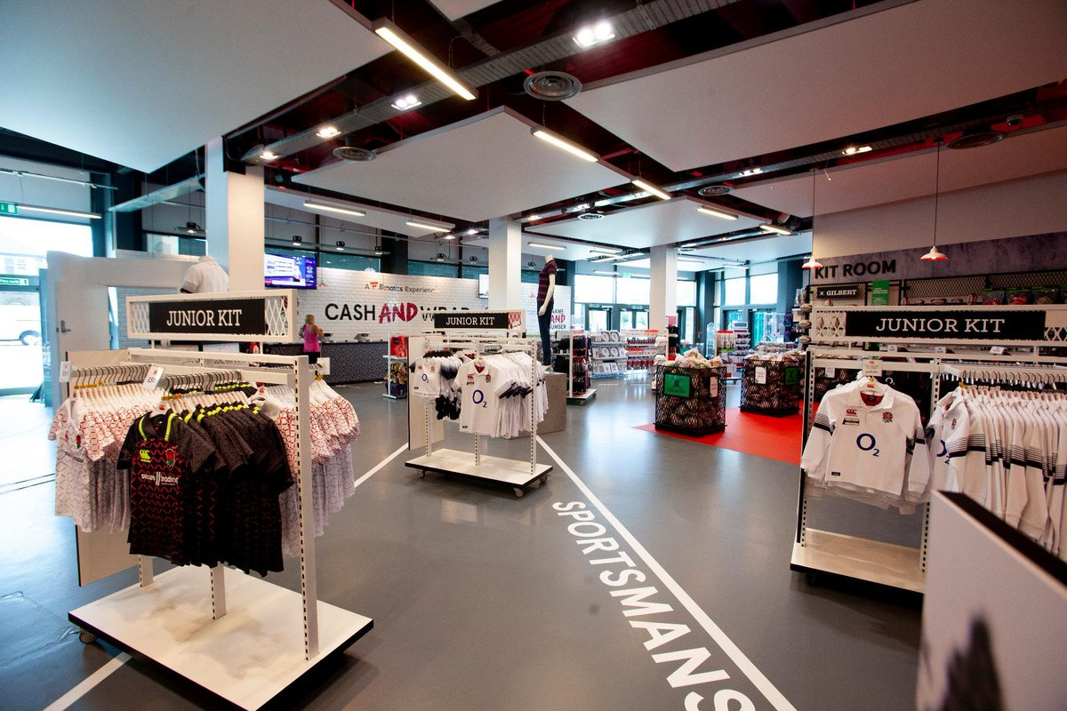 Heading to Twickenham? 🌹 Make sure you check out the brand new England Rugby Store, re-opened today in partnership with @Fanatics 🛒 More here: bit.ly/2KUgZDu