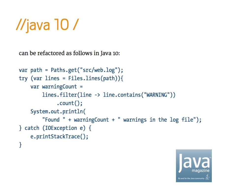 Java Magazine on Twitter: