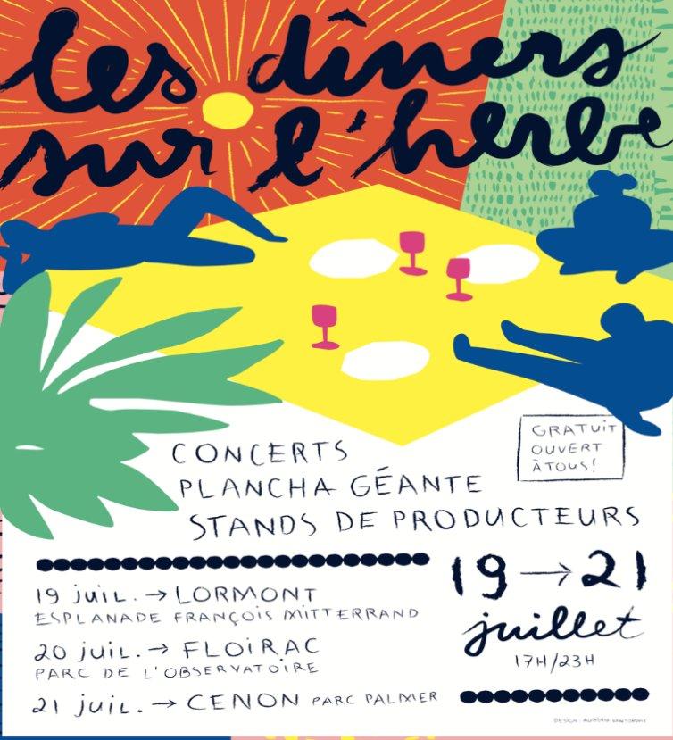 Soirée conviviale et musicale jeudi 19 #juillet à #Lormont. Animée par @RicochetSonore et #concert de Jeremie Malodj'. #eteMétro #fete #Musique #music #events #actus #animation #sorties #ete #summer #happy #plancha #live https://t.co/GDWTG9eZQh