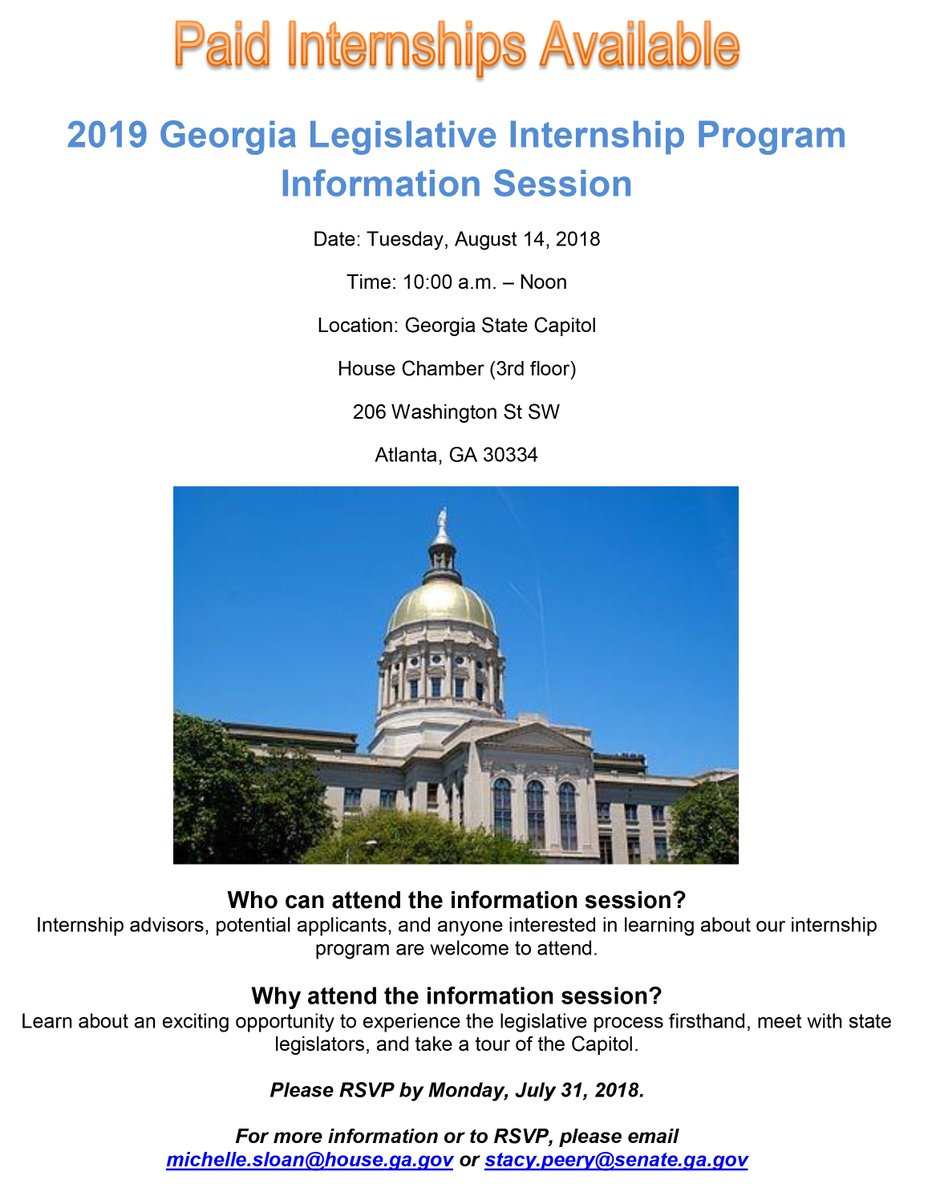 am noon at the georgia state capitol please rsvp by monday july 31 2018 see the attached flyer for more informationpictwittercomqjfjdevkd6