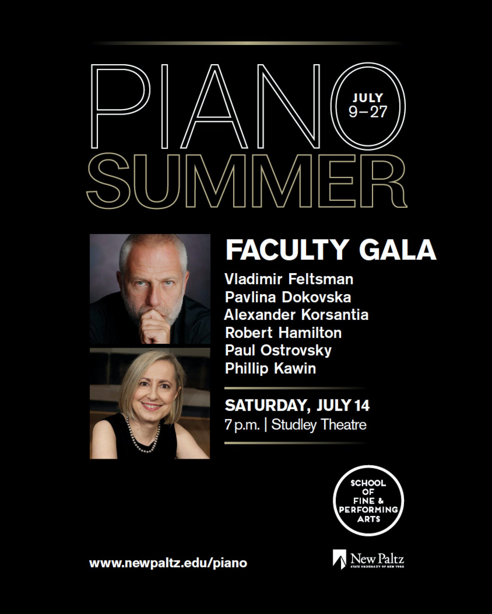Reloaded twaddle – RT @newpaltz: PianoSummer's Faculty Gala features classical performances by six ...