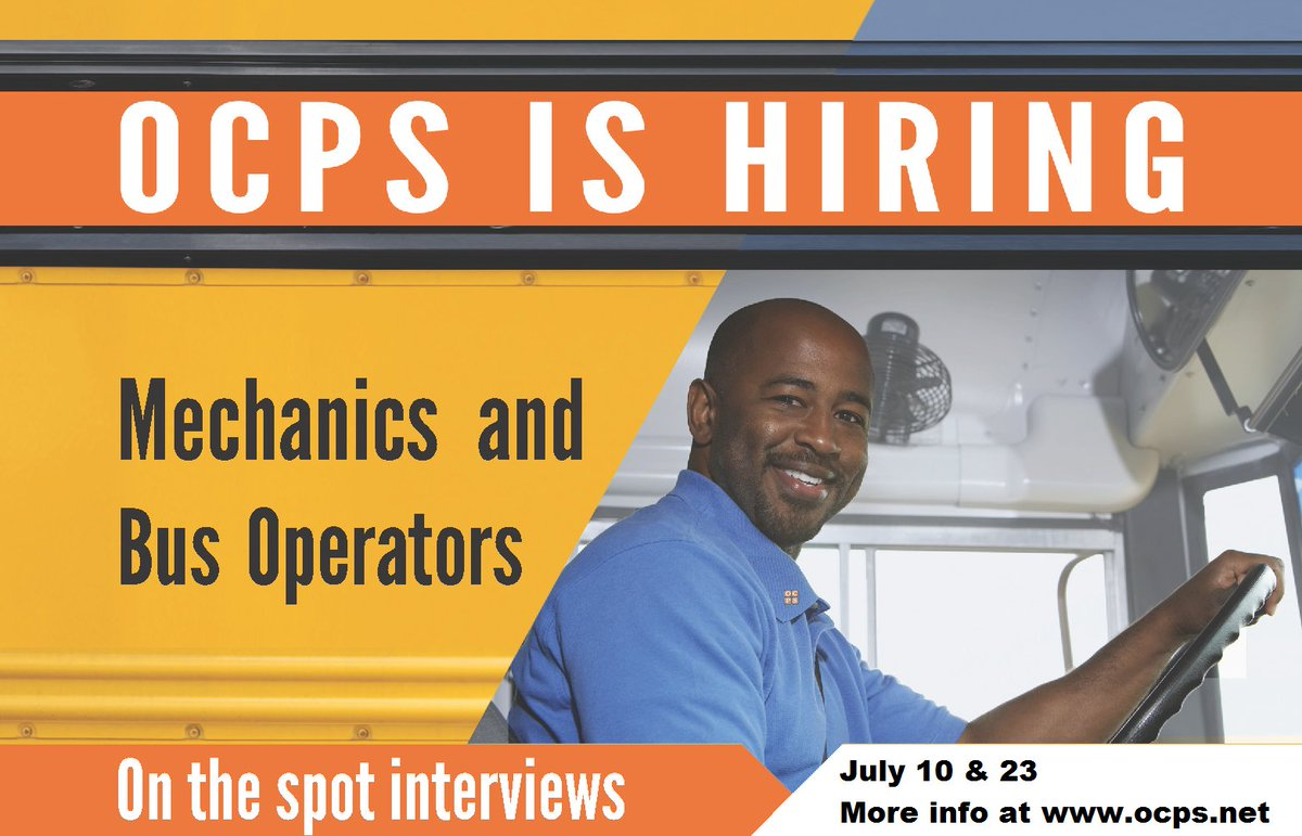 Ocpsnews On Twitter Many Of Our Departments Are Hiring Right Now Check Out The Orange County Public Schools Food And Nutrition Services Walk In Job Fairs This Week And Remember That