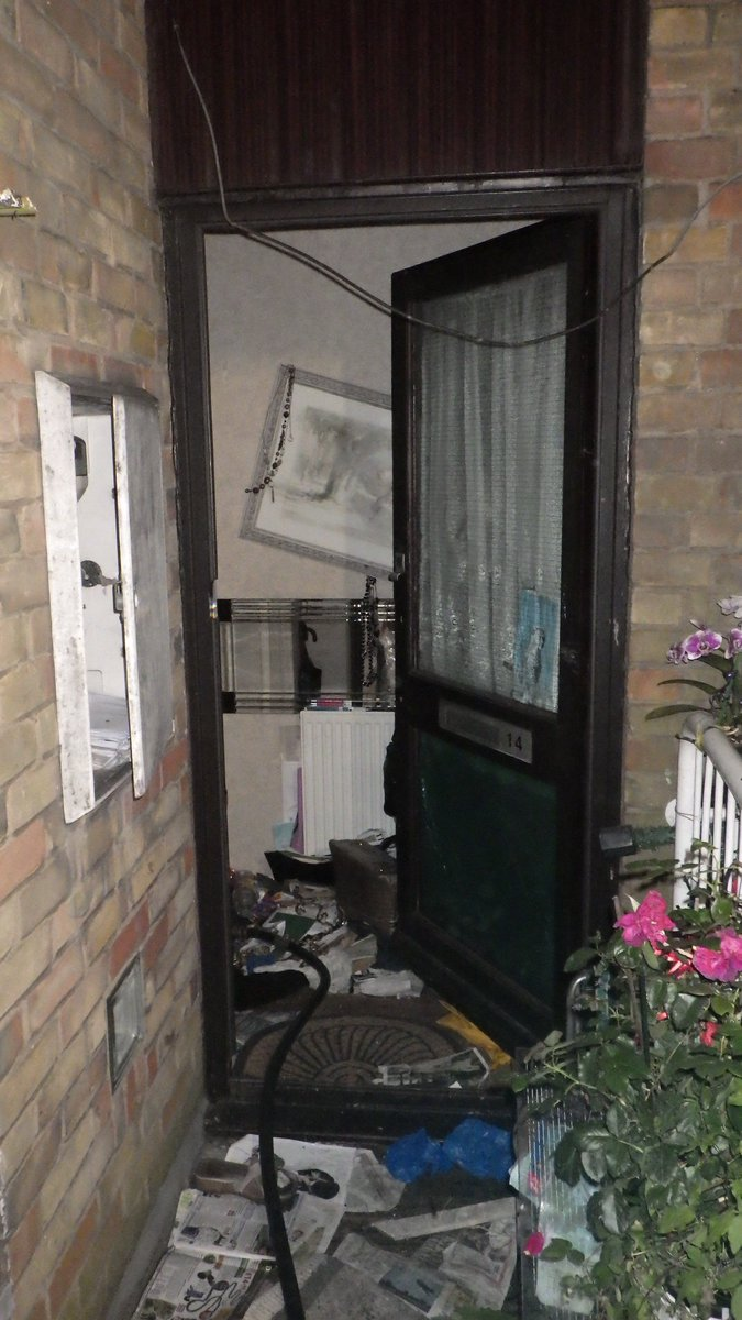 The balcony of a second floor flat was destroyed by fire in #GoldersGreen #ThisWeek https://t.co/TngyKVl2hr