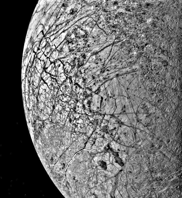 europa moon essay Read this full essay on jupiter's moon: europa this liquid water, in combination with a rocky silicate sea floor and radiolytically produce surface oxidants.
