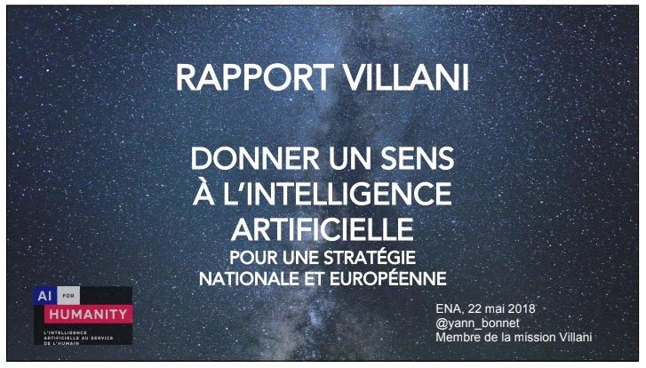 RAPPORT ARTIFICIELLE TÉLÉCHARGER VILLANI INTELLIGENCE