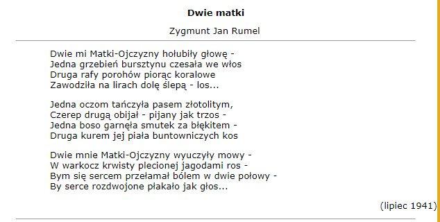 Edyta Hołdyńskaさんのツイート Zygmunt Jan Rumel Rozerwany