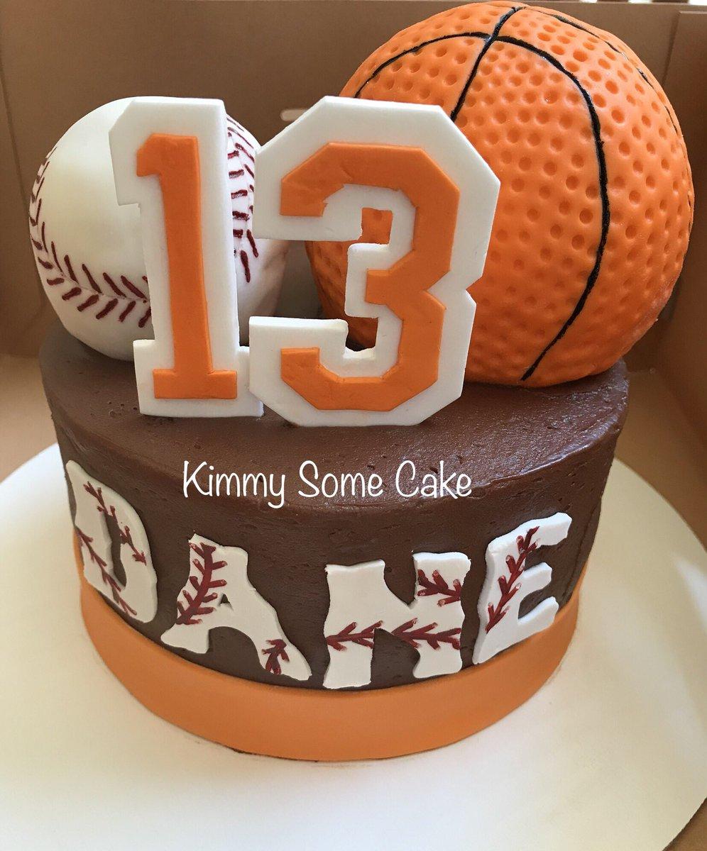 Superb Kimberly R On Twitter Baseball Basketball Themed Birthday Funny Birthday Cards Online Benoljebrpdamsfinfo