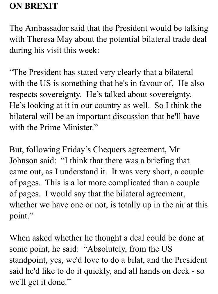 Sam Coates Times On Twitter Us Ambo In London Acknowledge Trade