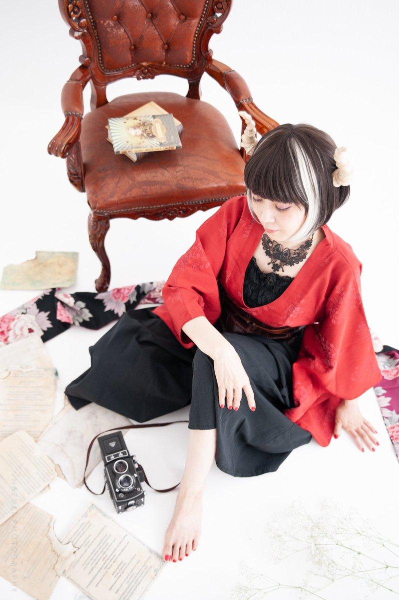 「鬼の恋」  撮影@hazukiphotolv  スタジオ@P_Studio_Cloud9  ツノ@koboru12 #創作
