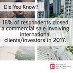 Did you close a deal with an international client or investor last year? https://t.co/3SyPOQySeB  #CRE @NAR_Research @narglobal