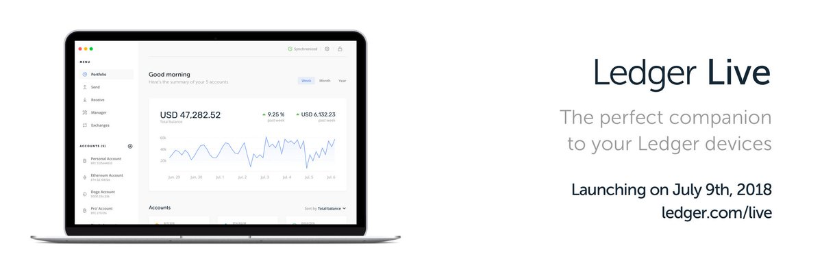 ico drops on twitter ledger live a new ledger app is now
