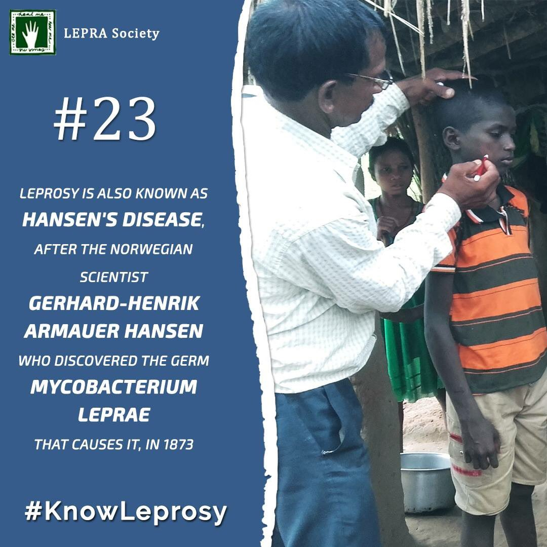 LEPRA Society On Twitter Did You Know Leprosy Is Caused By The