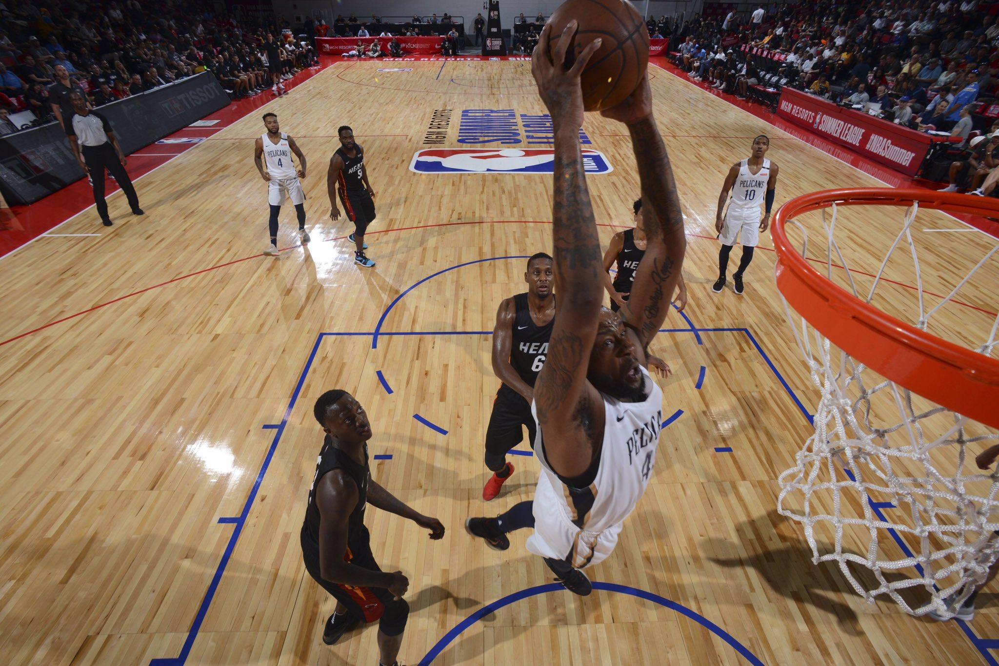 #Pelicans go into Game 3 today!  �� @DetroitPistons  �� @CoxPavilion  ⏰  2:00PM CT �� @ESPNU  #NBASummer https://t.co/TLH9ThEzVC