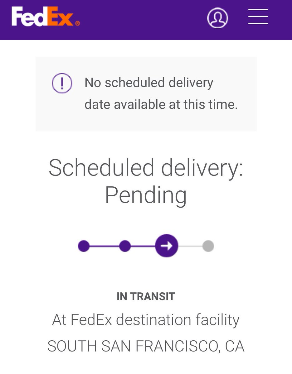 Arin Sarkissian On Twitter Hey Fedexhelp What S The Deal The Package Is Only 10 Miles Away What Do You Mean There S No Delivery Date