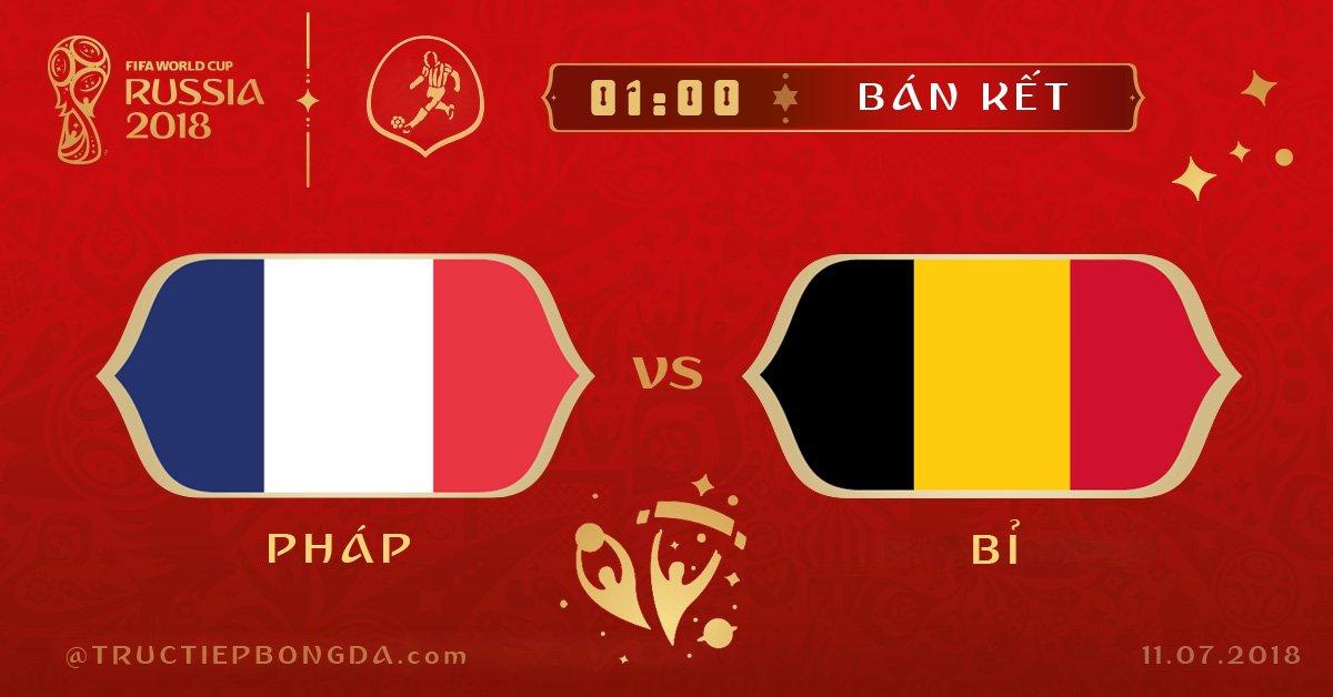 Pháp vs Bỉ