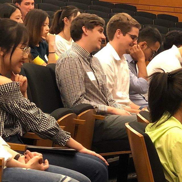 Our Masters in Business Analytics are in the house @wakeforestbiz! So great to have 90 MSBA students beginning their 10-month journey today. . . . #bizdeacs #datadeacs #wakeforest #analytics #businessanalytics #highereducation #businesslife https://t.co/UgXJw6qQch